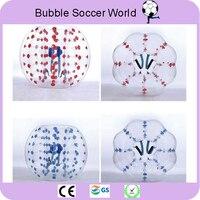 2018 воздушный пузырь футбольный мяч Зорб 0,8 мм ПВХ 1,2 м 1,5 м 1,7 м надувной бампербол взрослых надувной пузырь Футбол бампер мяч на продажу