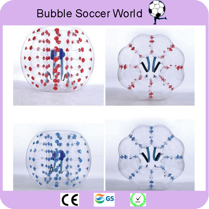 2018 Air Bubble Soccer Zorb Ball 0.8mm PVC 1.2M 1.5M 1.7m Air Bumper Ball Adult Inflatable Bubble Football Bumper Ball on Sale image