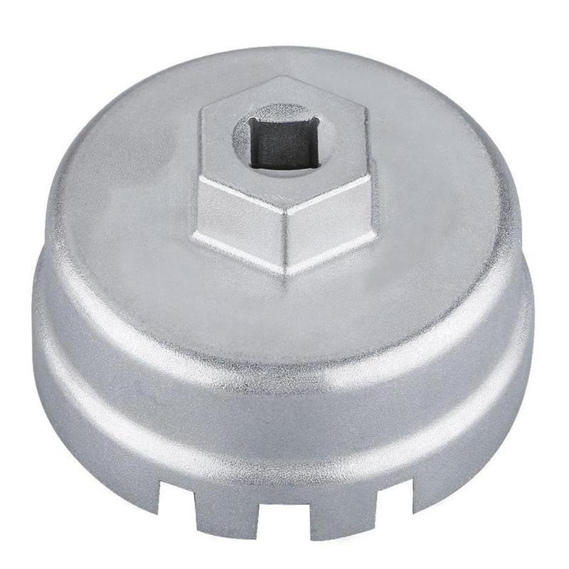 BLK for Toyota Lexus CT200h Scion Oil Filter 64mm 14 Flute Aluminum Cap Wrench