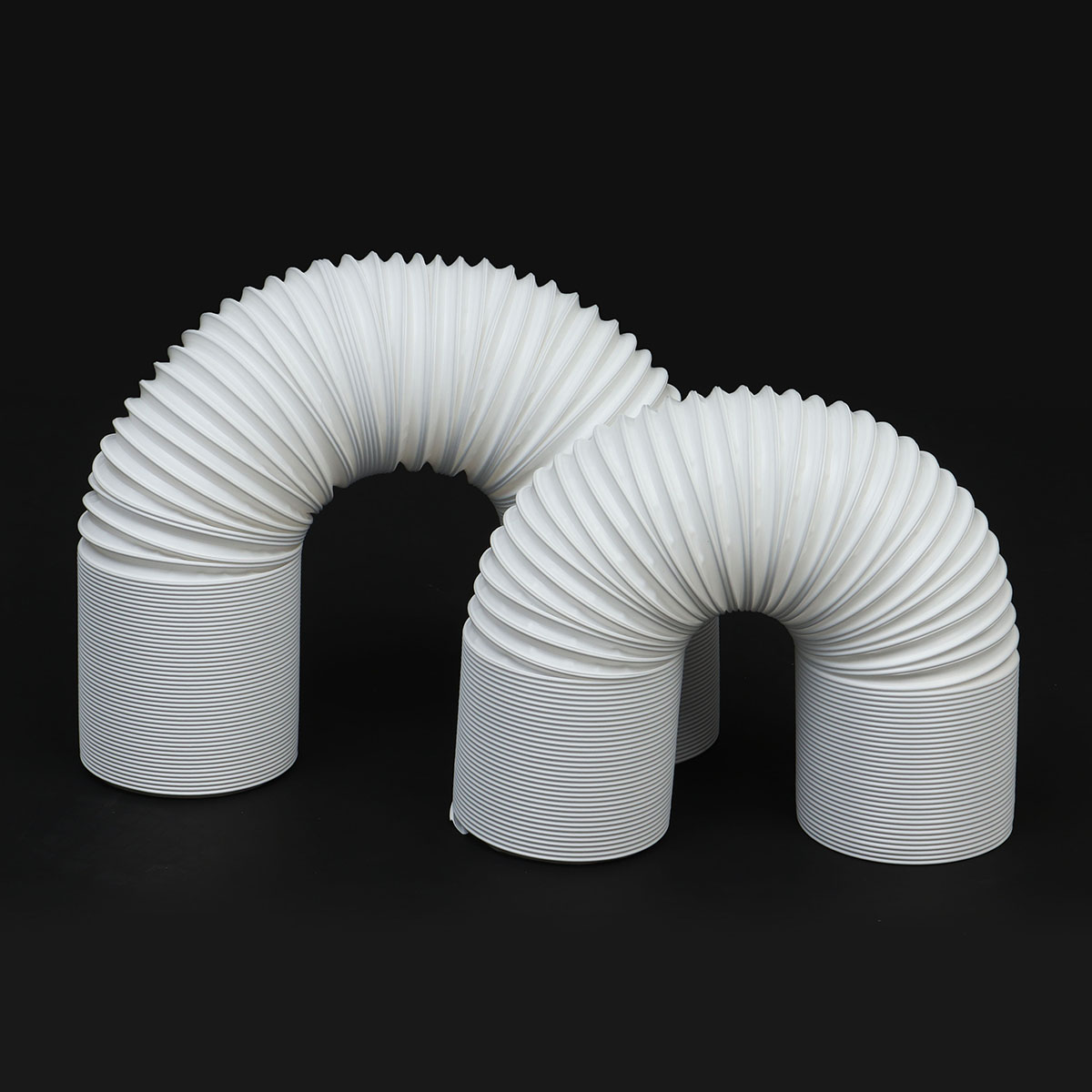 13cm 5.1 Diameter Flexible  Air Conditioner Exhaust Pipe Vent Hose Duct Outlet Free Extension For Portable Air Conditioner13cm 5.1 Diameter Flexible  Air Conditioner Exhaust Pipe Vent Hose Duct Outlet Free Extension For Portable Air Conditioner