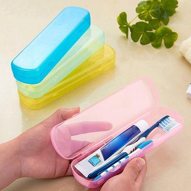 Компактная для путешествий зубная щетка подставка для зубной пасты коробка защитный чехол новый