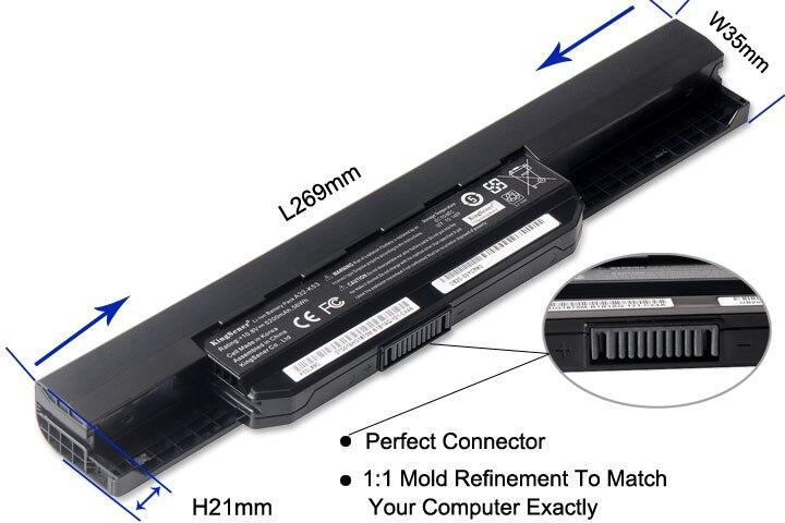 Корея CellShener новый аккумулятор A32-K53 - Аксессуары для ноутбуков - Фотография 4