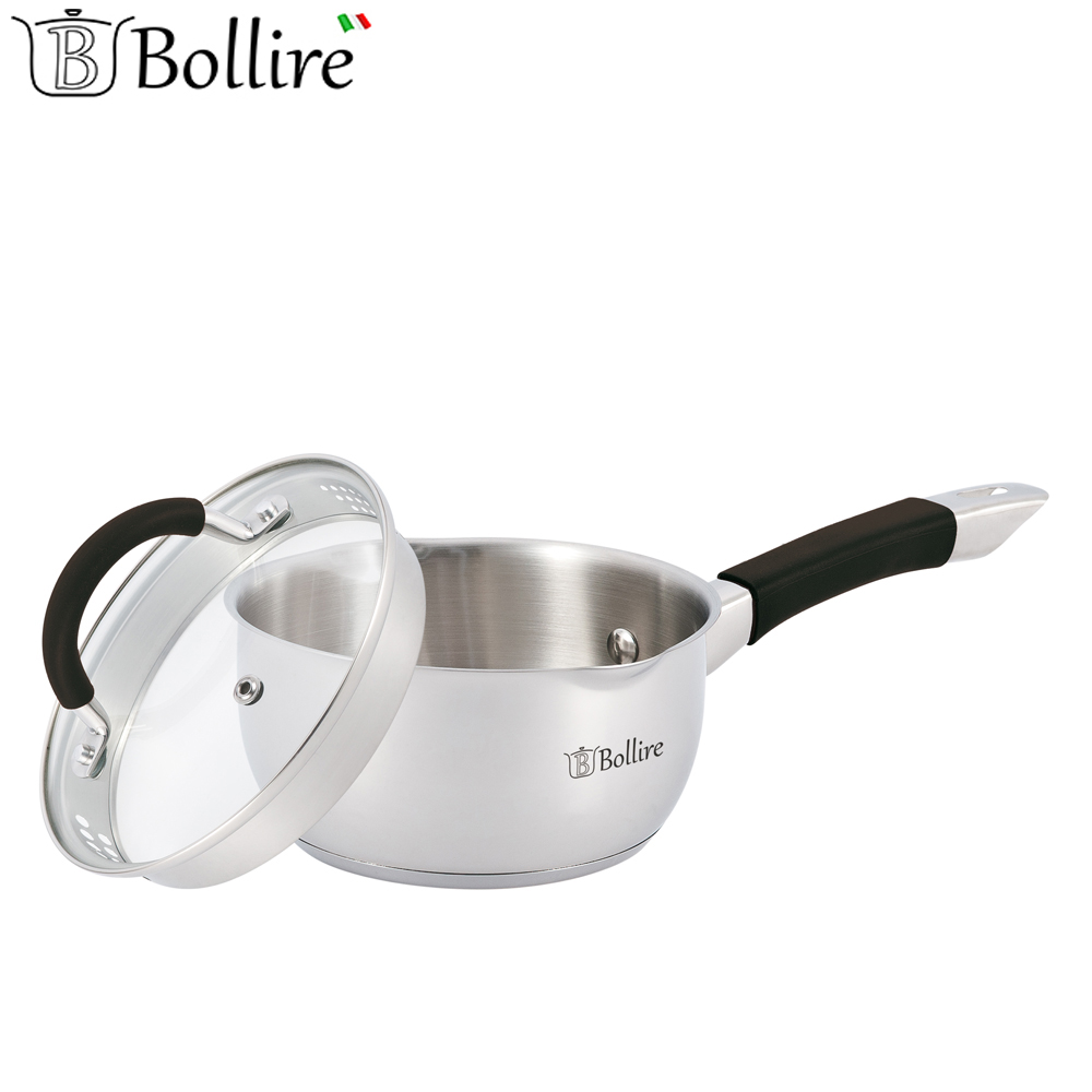Casseroles BOLLIRE BR-2401 Capsule Bottom Suitable for all types of plates тонкие письма