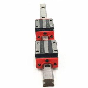 Image 2 - Rail de guidage linéaire, 2 pièces, HGR15 HGH15 1800 2000mm, largeur de 15mm + 4 pièces, chariot à bloc linéaire HGH15CA ng HGW15CC HGH15 CNC pièces