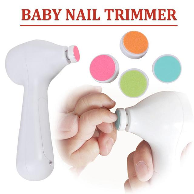 Electric Baby Nail Trimmer File Electric Safe Nail