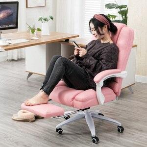 Image 2 - EU 直接播種家庭用ゲームで快適な回転椅子ボス作業オフィスレース播種 cadeira ゲーマー RU