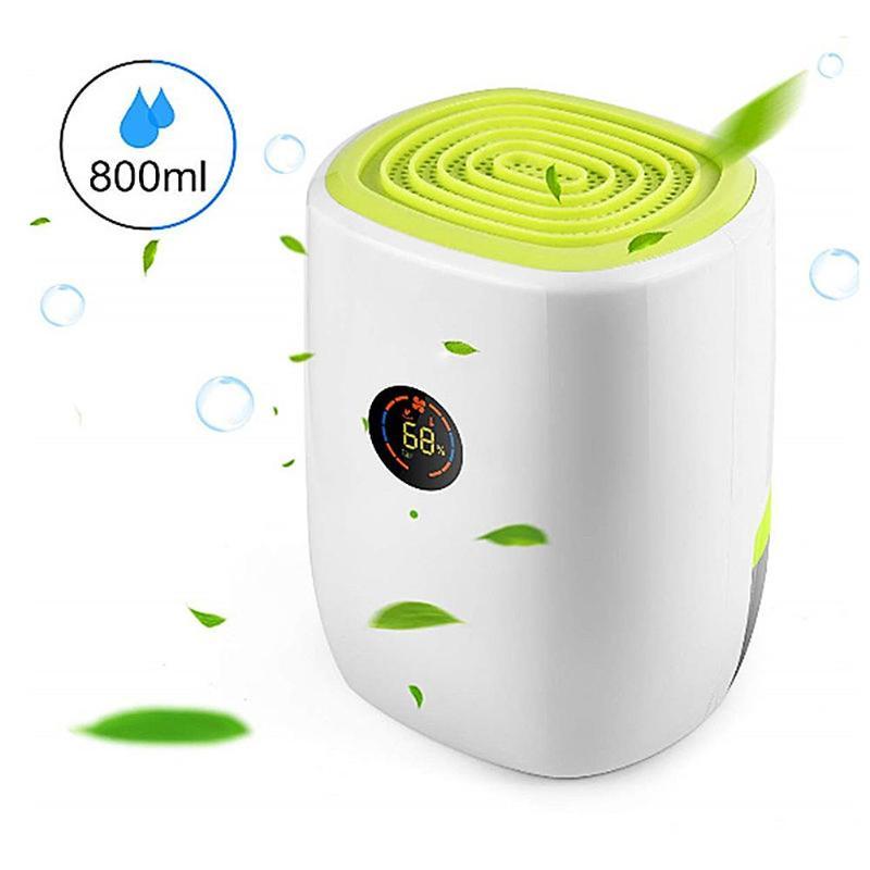 800 мл Электрический осушитель воздуха, мини портативный осушитель воздуха для дома, светодиодный дисплей, ЭЛЕКТРИЧЕСКИЙ КОМНАТНЫЙ осушитель воздуха, очиститель