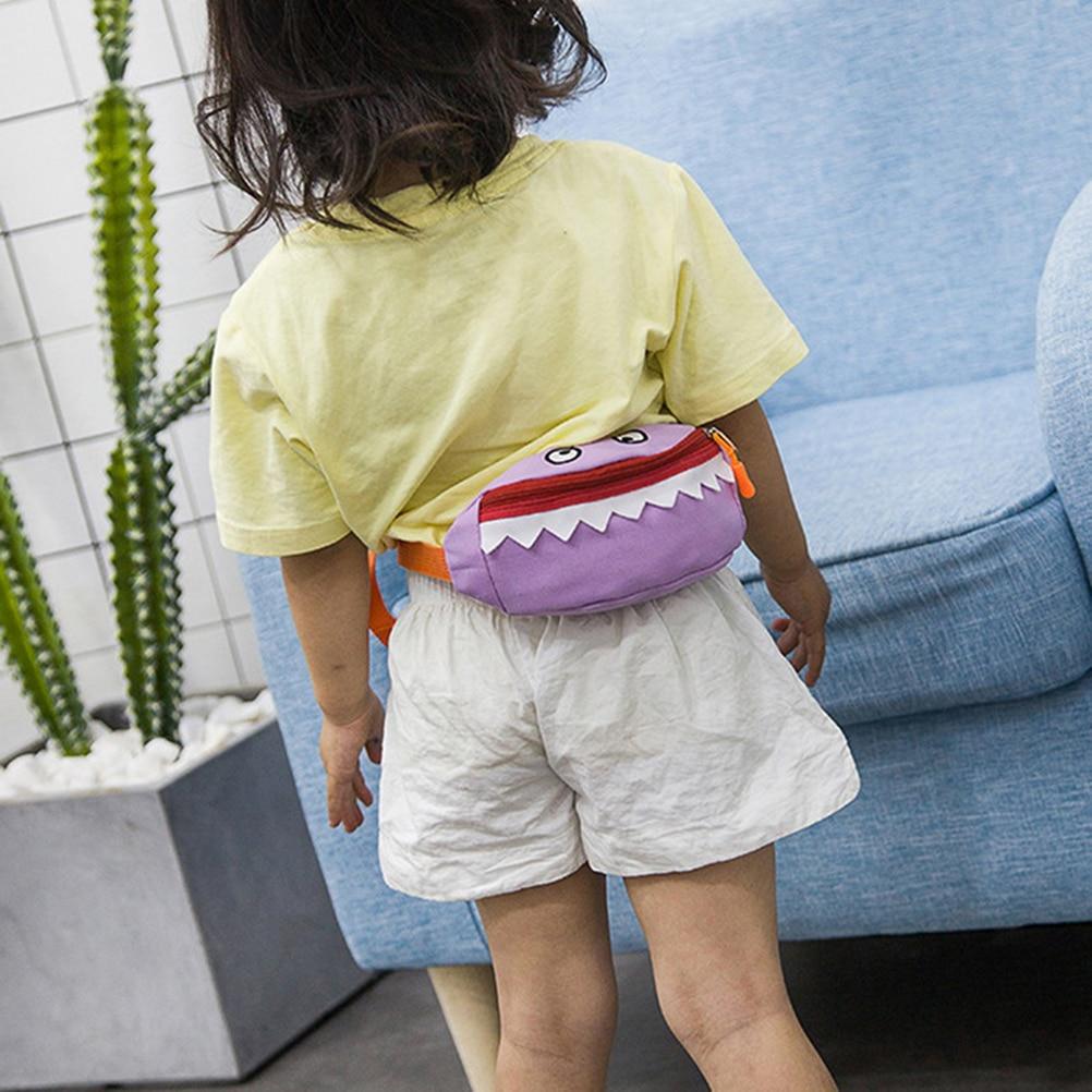 2019 kinder Taille Packs Fanny Tasche Cartoon Brust Bag Kid Junge Mädchen Geld Brieftasche Taille Tasche Kawaii Lauf Gürtel Tasche weihnachten Geschenk