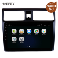 Harfey Car Stereo GPS Navigation Multimedia Player For 2005 2006 2007 2008 2009 2010 Suzuki Swift Android 8.1 10.1 Head Unit