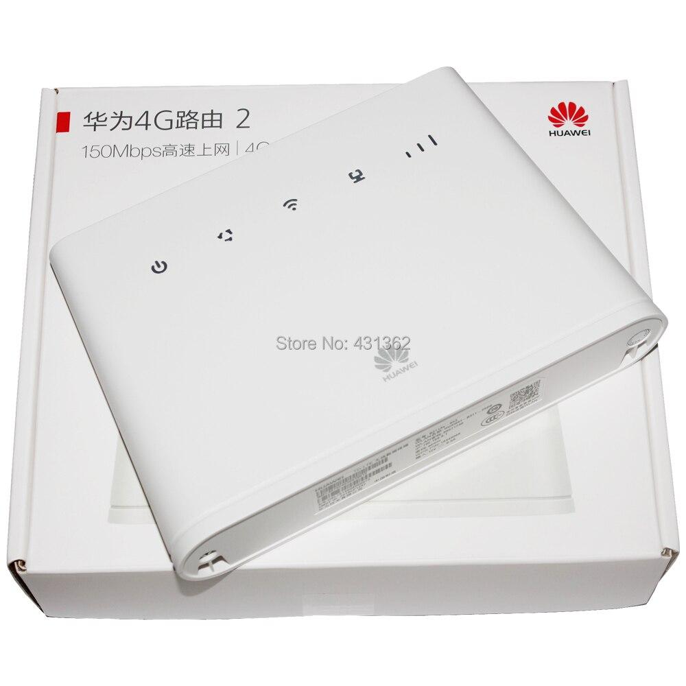 Routeur réseau WiFi d'origine 150 Mbps Huawei B311 B311AS-853 4G LTE CEP avec fonction VPN