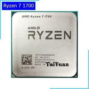 Image 1 - AMD Ryzen 7 1700 1700 GHz, 8 cœurs, six fils, 3.0, YD1700BBM88AE, prise de 65W, AM4, R7 processeur dunité centrale