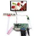 DVI VGA LCD плата контроллера 1024x600 разрешение подсветка WLED LTD056ET3A 5 6 дюймов ЖК-экран