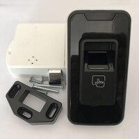 Smart Fingerprint Drawer Lock Padlock Keyless Luggage Cabinet Security Entry Lot