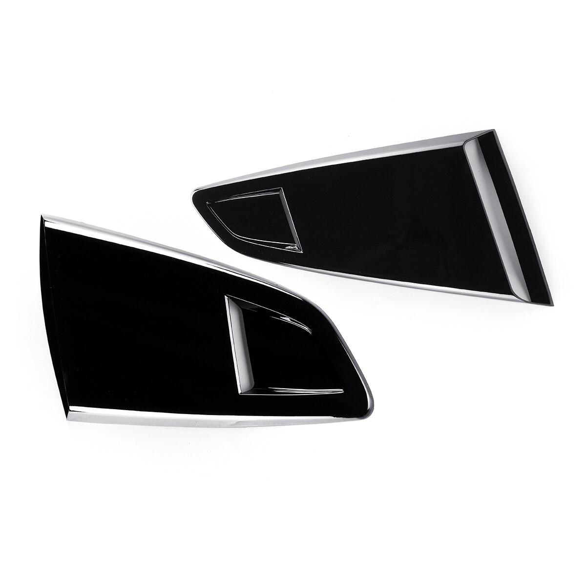 Nouveau 2x voiture côté fenêtre quart arrière persienne côté évent Scoop couverture garniture pour 2015-2017 pour Ford pour Mustang 2 porte pour coupé modèle