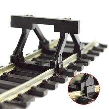 2 Pcs Trein Model Spoor Accessoires Ho 55280 Buffer Pomp Blok De Weg Weerstand Buffer 1:87