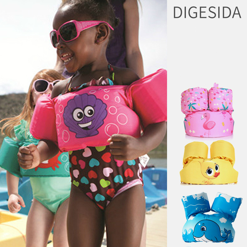 1pc Pools & Water Fun Animal Cartoon Design Kids Floaties Armbands For Swimming Summer Swimtrainer Toys For Children #JC