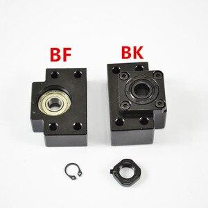 Image 5 - 2 pcs vite a sfere SFU2505 397mm + supporto end bkbf20 + coulpings + custodia dado DSG25H per la macchina di cnc