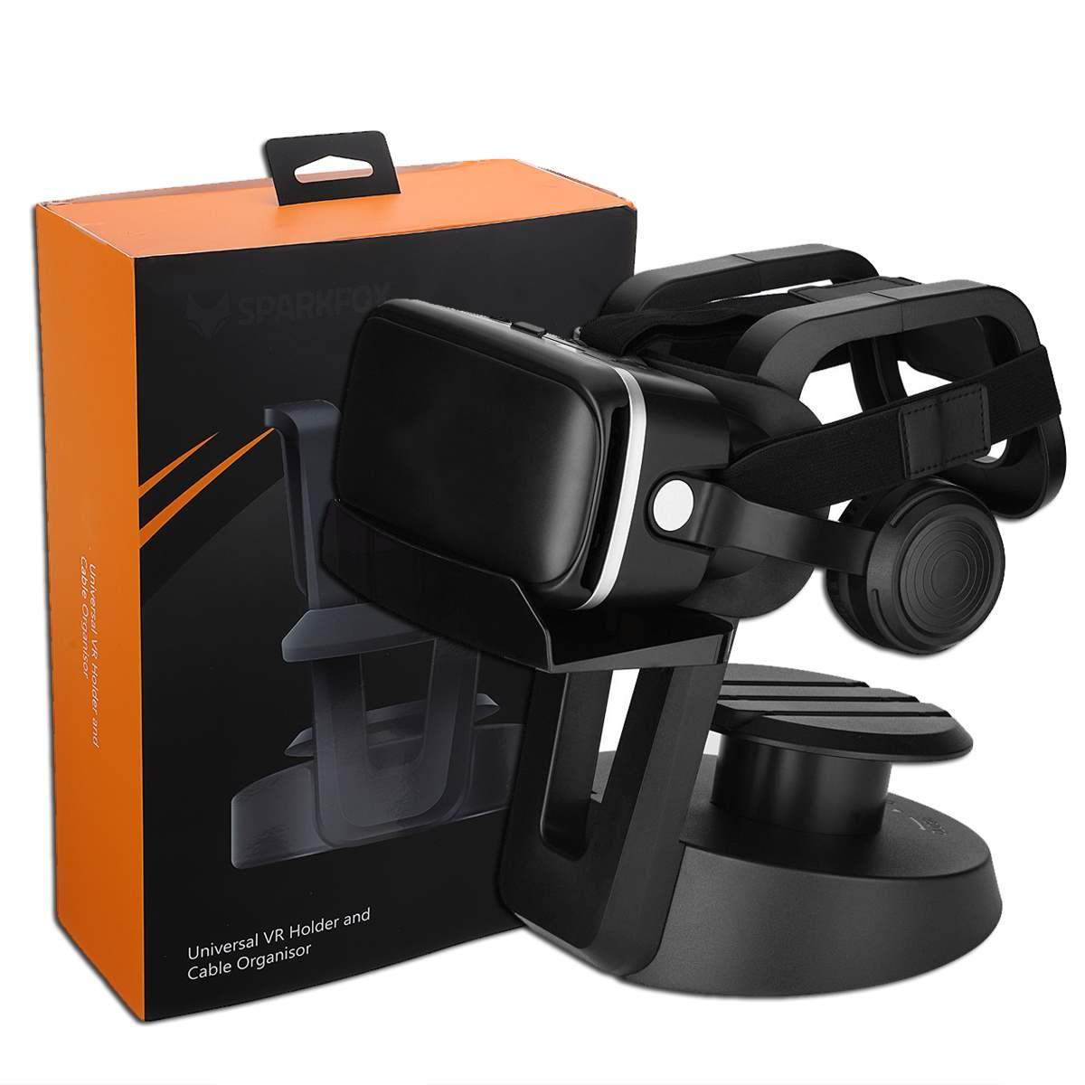 Cliate Universal VR Headset Holder Cable Organizer Stand Holder Display  Mount For PS4 PSVR Rift for HTC Vive Helmet