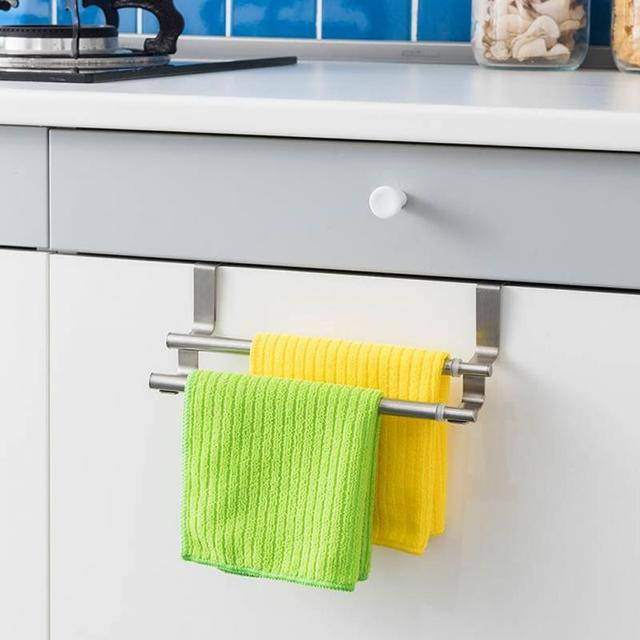 Kitchen Hanging Towel Storage Racks