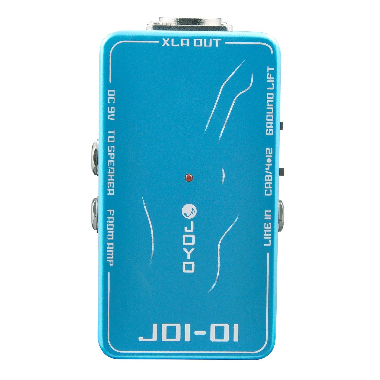JOYO JDI-01 effets de guitare électrique pédale DI Box accessoires et pièces de guitare accessoire d'instrument de haute qualité