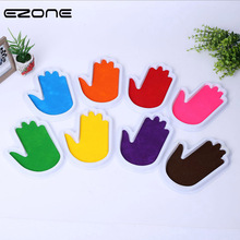 EZONE Palm Ink Pad DIY Graffiti Paint Inkpad Rubber Stamps Kids Painting Scrapbooking School Office Supply Washable