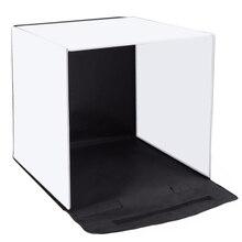 PULUZ 40x40 см 16 дюймов фотостудия box photograghy софтбокс портативный складной студия стрельба Палатка коробки with5 задний план ba