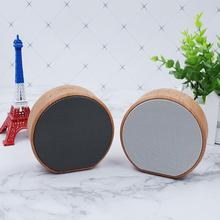 Retro Wood Bluetooth Speaker Portable Wireless Car Outdoor Mini Computer Fidelity Music