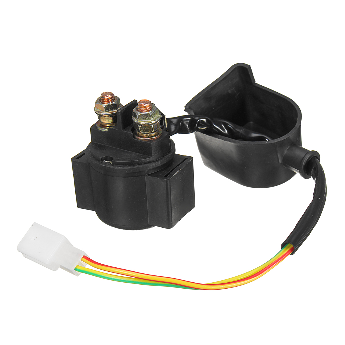 Forceful 12v Starter Solenoid Relay For Atv Go Kart Pit Dirt Bike Quad 90cc 110cc 125cc Skilful Manufacture Back To Search Resultsautomobiles & Motorcycles