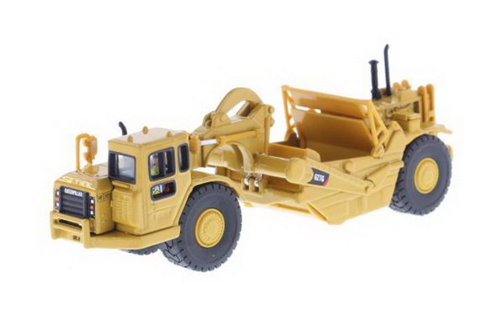 Grattoir de tracteur de roue Caterpillar Cat 1/87G à l'échelle 627 des maîtres moulé sous pression modèle #85134
