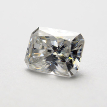 4*6mm Radiant Cut 0.61carat White Moissanite Stone Loose Diamond  for Ring making