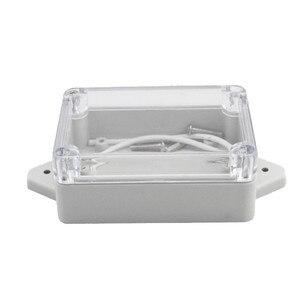 Image 3 - جديد لتقوم بها بنفسك ABS علبة توزيع إلكترونيات IP65 الالكترونيات الصغيرة الضميمة البلاستيك الضميمة مقاوم للماء صندوق وصلات صندوق التبديل ستة حجم