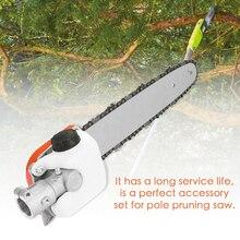 Ht km 73 acessórios de cortador de grama 130 series pole saw trimmer conector pólo poda serra acessórios ferramenta para trabalhar madeira