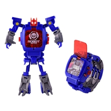 Kids Transformers Rescue Bots Toys 2 in 1 Digital Robot