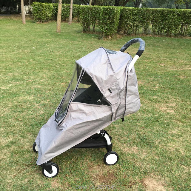 Baby Stroller Accessories Rain Cover Universal Yoyo Waterproof Rainshed Awning fit I.BELIVE Babyzenes Yoya Pram Anti snow cover