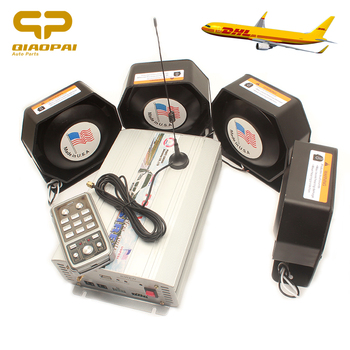Super Loud Speaker 800W Police Siren Wireless Alarm 18 Sound 12V for Car Train Truck Ship Warning Horn Magaphone MIC System VW
