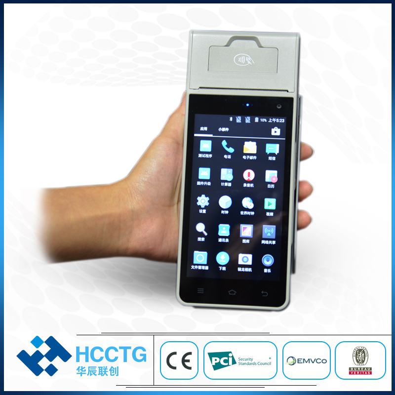 Handheld Payment System Android Pos Terminal With NFC Reader Z90