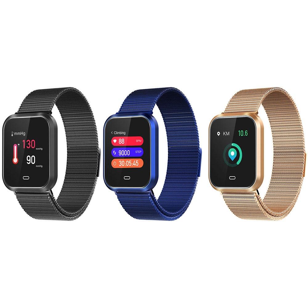 Smart Bracelet Blood Pressure Measurement Watch Heart Rate Monitor Fitness Wristband