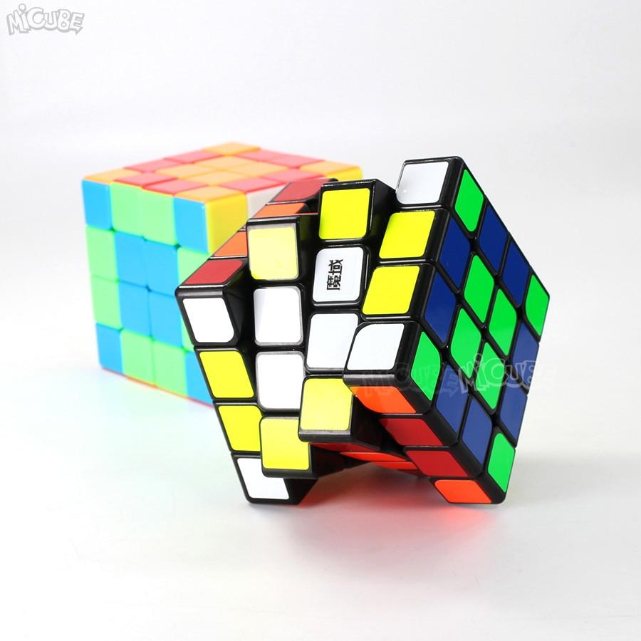 Moyu Aosu GTS2M GTS2 M 4x4x4 Cube magnétique vitesse Puzzle Cubo Magico 4x4 Aosu GTS V2 M pour jouet enfant noir sans autocollant professionnel - 5