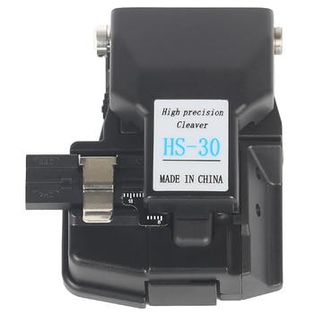 Envío gratis Venta al por mayor precio de alta precisión de fibra óptica de HS-30 de fibra óptica fusión cleaver de fibra Cleaver