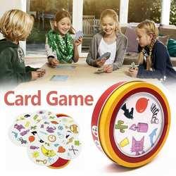 Новое место животных карточная игра вечерние семья Вечеринка развлечения икона матч английский карточная игра