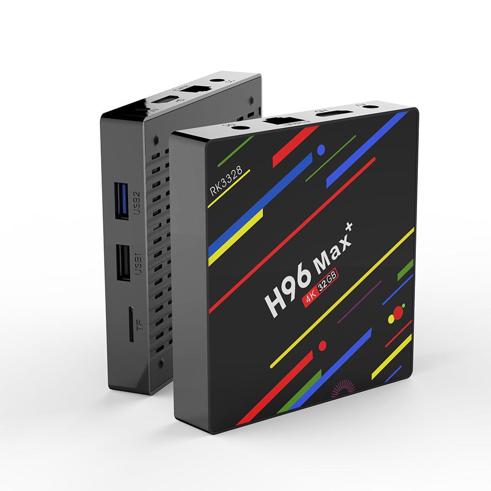 BLUELANS 4 GB + 32 GB USB3.0 Quad Core TV décodeur WiFi lecteur multimédia pour Android 8.1