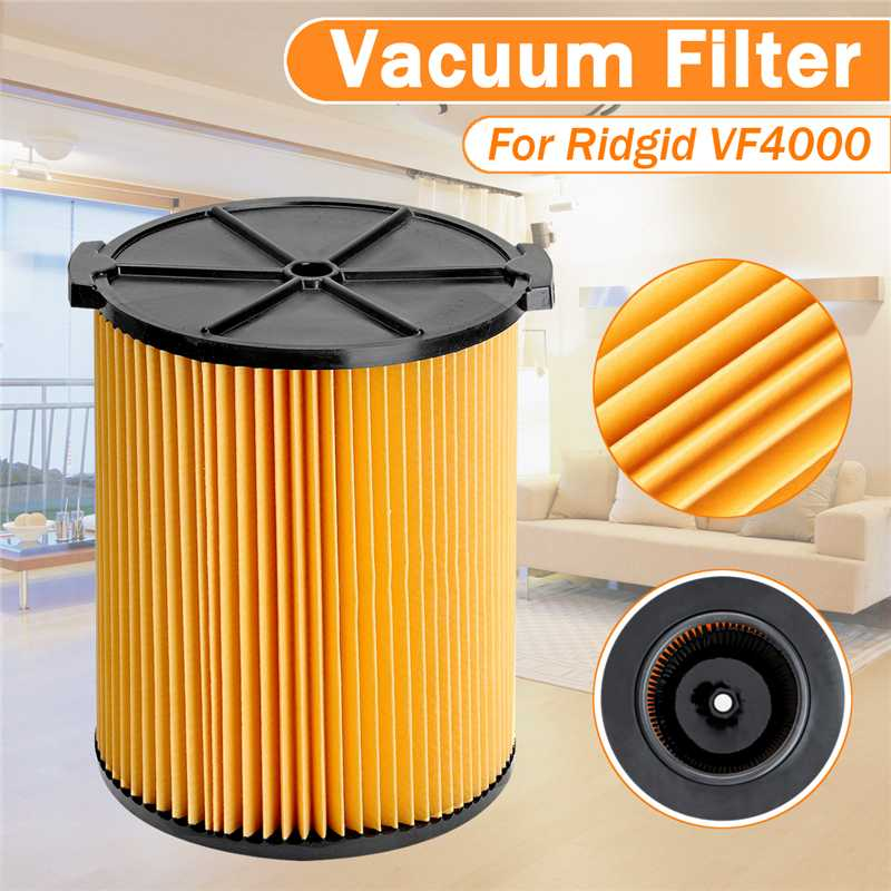 Hot Selling 6-20 Gallon Capacity Vacuum Cleaner Filters for  Ridgid VF4000 72947 6-20 Gallon vacuums cleanerHot Selling 6-20 Gallon Capacity Vacuum Cleaner Filters for  Ridgid VF4000 72947 6-20 Gallon vacuums cleaner
