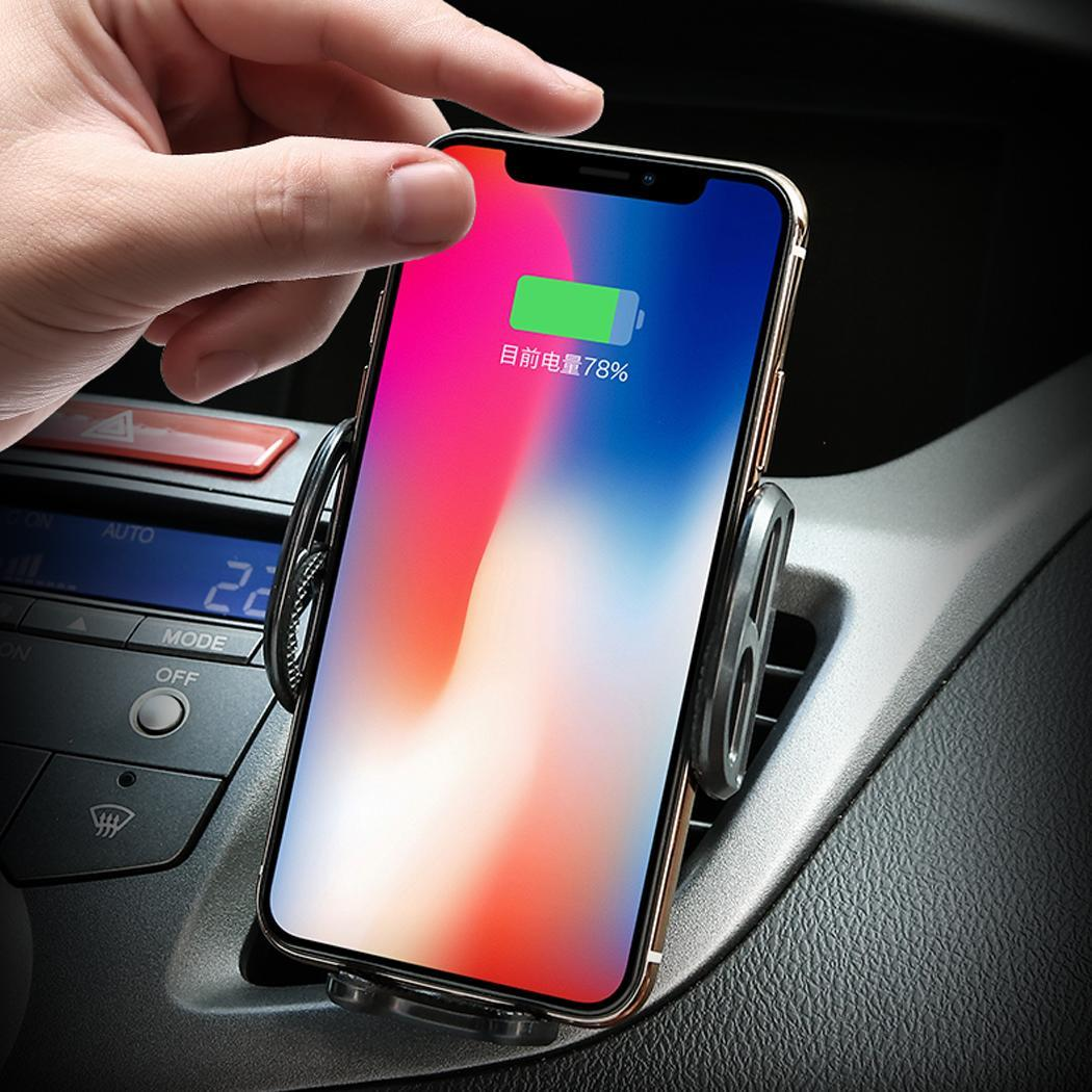 Rotatable Intelligent Infrared Induction Car Wireless Charging Mobile C