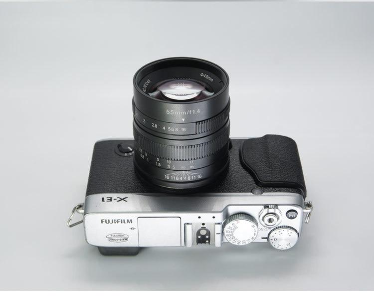 55mm F14 Retrato Micro Único Manual de Lente de Foco Fixo Grande Abertura 55 14 - 2