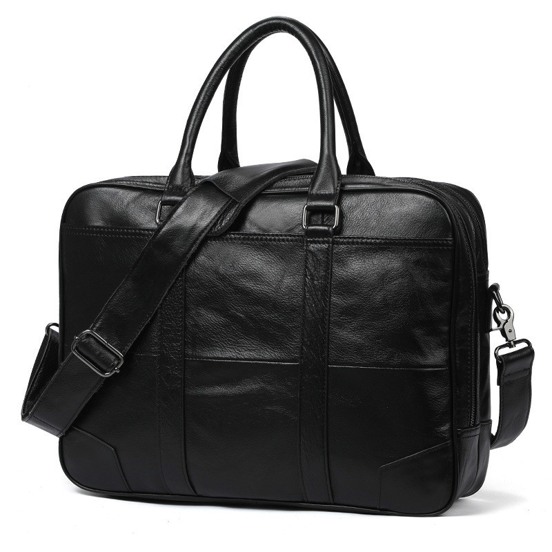 Genuine Leather Male Computer Business Briefcase Satchel Bolso Maletin Hombre Maleta Man Bag 667-40 Cowhide Laptop Messenger BagGenuine Leather Male Computer Business Briefcase Satchel Bolso Maletin Hombre Maleta Man Bag 667-40 Cowhide Laptop Messenger Bag