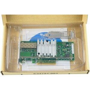 Image 4 - Fanmi X520 DA1 10 gbase pci express x8 82599 en chip único porto ethernet rede adaptador e10g41btda, sfp não incluído