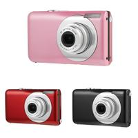 Black/Red/Pink Ultra Thin 8X Optical Zoom Lens 16MP HD CMOS Sensor Digital Children Camera Camcorder Video Recorder