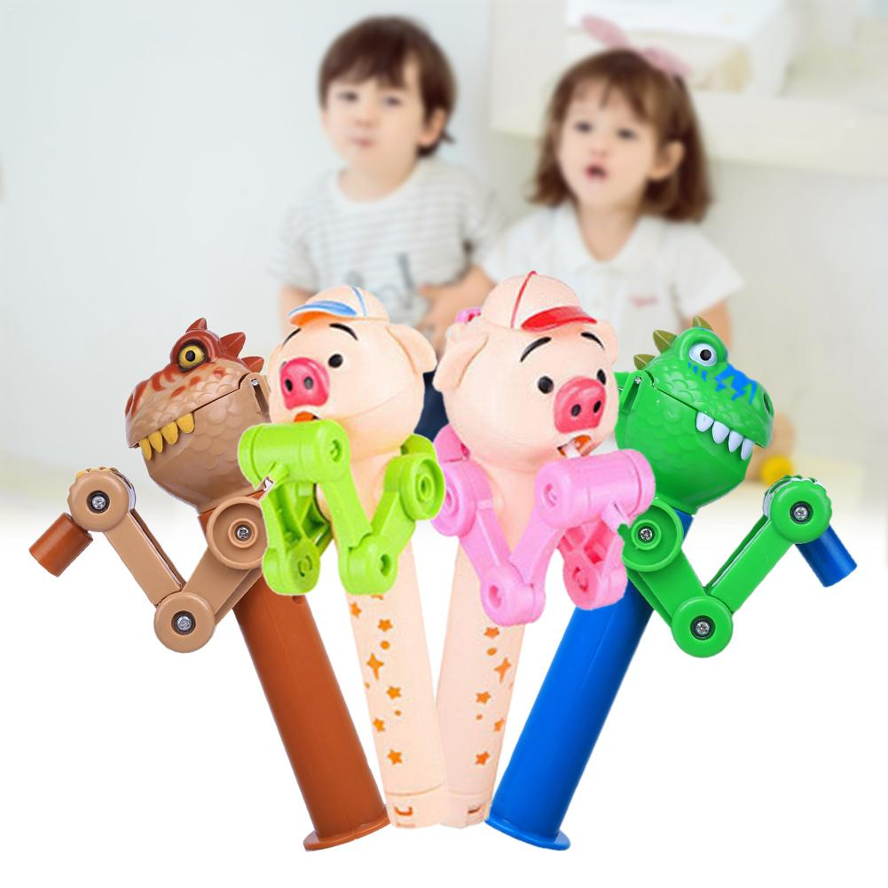 Creative Lollipops Artifact Funny Eating Lollipop Robot Holder Stand Gifts Toy Sweet Smelling Comfortable Touch Fantastic Toy