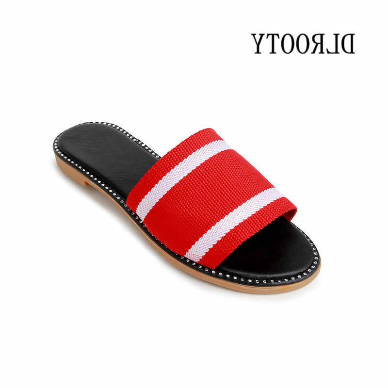 a07610aa7212 Women Slippers Sandals Flip Flops 2019 New Summer Fashion Breathable Non-slip  Shoes Woman Slides