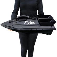 Рыболовный инструмент EU/US/UK Flytec 2011-5, умные радиоуправляемые приманки, лодка, игрушки, двойной мотор, рыболокатор, лодка, пульт дистанционного управления, 500 м, рыболовная лодка